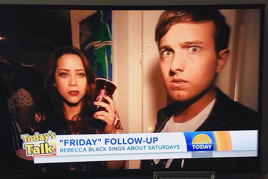 kaleb nation on the today show rebecca black saturday
